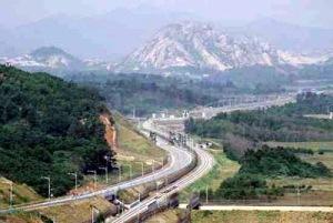 donghae bukbu line on korean dmz 10 Batas Negara Terunik Didunia